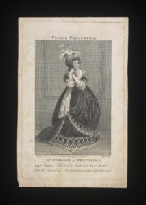 Mrs Siddens as Belvidera (1783)